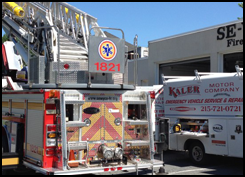 An emergency vehicle technician in Lansdale, PA, that you can count on